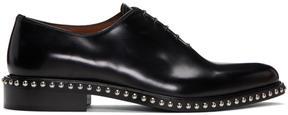 Givenchy Black Studs Derbys