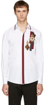 Dolce & Gabbana White Medallion Shirt