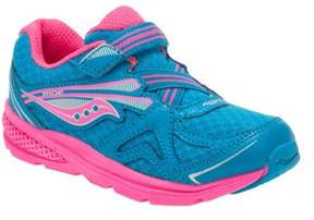 Saucony Infant Girls' Baby Ride 9 Hook And Loop Sneaker.
