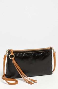 Hobo 'Darcy' Leather Crossbody Bag - Black