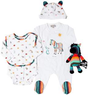 Paul Smith Jersey Bodysuit, Romper, Bib, Hat & Toy