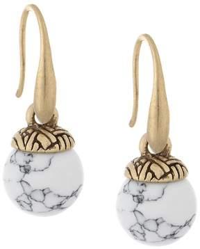 The Sak Color Bead Drop Earrings