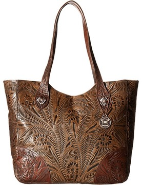 American West - Annie's Secret Collection Large Zip Top Tote Tote Handbags