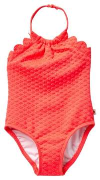 Kate Spade Scalloped One-Piece Swimsuit (Baby Girls)