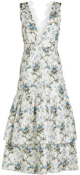 Brock Collection Darling Printed Silk Dress