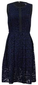 Tommy Hilfiger Women's Fern Lace Fit & Flare Dress