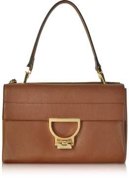 Coccinelle Brule Pebbled Leather Arlettis Shoulder Bag