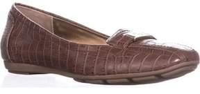 Giani Bernini Gb35 Jileese Casual Loafer Flats, Nut Croc.