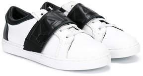 Karl Lagerfeld logo strap sneakers