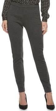 Elle Women's Grid Pull-On Dress Pants