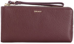 DKNY wrist-strap zipped wallet