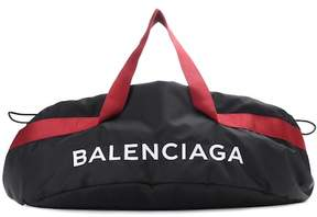 Balenciaga Embroidered canvas bag