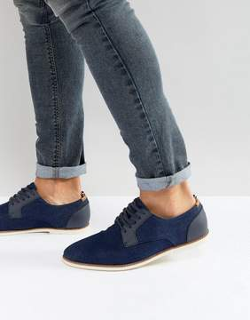 Call it SPRING Gaenburh Lace Up Shoes In Navy