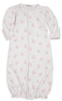 Kissy Kissy Baby's Ballet Slippers Print Pima Cotton Converter Gown