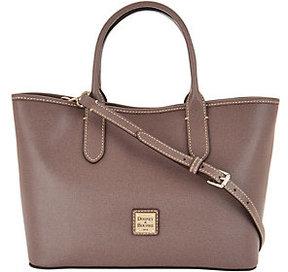 Dooney & Bourke As Is Saffiano Leather Satchel Handbag-Brielle - ONE COLOR - STYLE