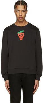 Paul Smith Black Strawberry Skull Pullover