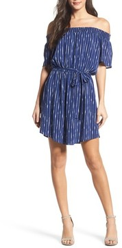 Charles Henry Petite Women's Off The Shoulder Dress