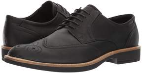 Ecco Biarritz Modern Brogue Men's Lace Up Wing Tip Shoes