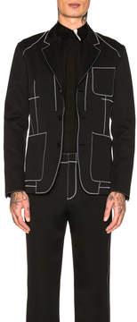 Givenchy Contrast Stitch Jacket