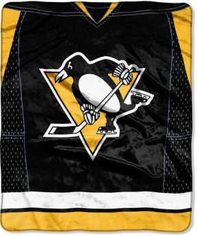 Northwest Company Pittsburgh Penguins Raschel Stamp Throw Blanket
