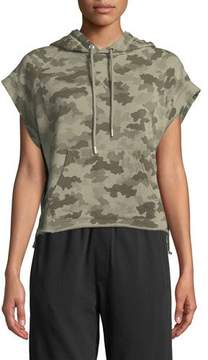 ATM Anthony Thomas Melillo Camo-Print Hooded Pullover