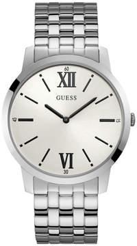 GUESS Silver-Tone Classic Watch