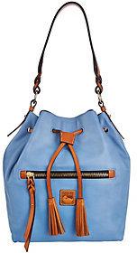 Dooney & Bourke As Is Logan Leather Drawstring Bag
