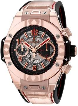 Hublot Big Bang Unico King Gold World Poker Tour Automatic Men's Watch