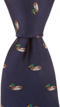 Class Club 50 Collegiate Ducks Tie