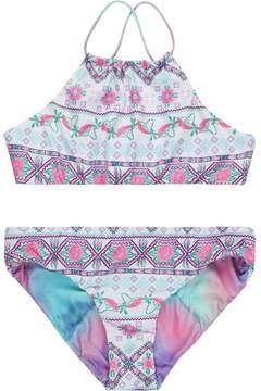 Seafolly Festival Surf Reversible Tankini Swimsuit