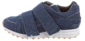 3.1 Phillip Lim Denim Low-Top Sneakers