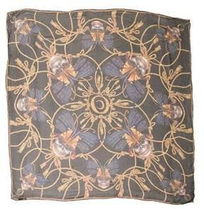 Alexander McQueen Silk Abstract Scarf