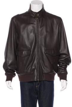 Loro Piana Storm System Reversible Leather & Cashmere Jacket