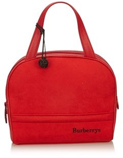Burberry Pre-owned: Leather Handbag. - RED - STYLE