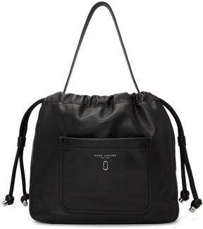 Marc Jacobs Black Drawstring Hobo Bag - BLACK - STYLE