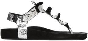 Isabel Marant Silver Leakey Sandals