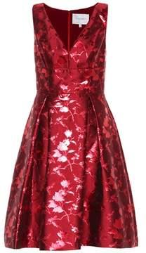 Carolina Herrera Sleeveless jacquard dress