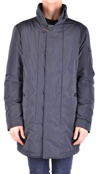 Peuterey Men's Blue Polyester Coat.