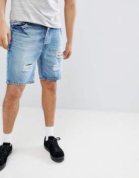 Brave Soul vintage Distressed Denim shorts
