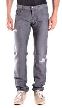 CNC Costume National Men's Grey Cotton Jeans.