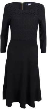 Tommy Hilfiger Women's Crochet Ribbed Sweater Dress