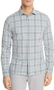 Bloomingdale's The Men's Store at Plaid Long Sleeve Button-Down Shirt - 100% Exclusive