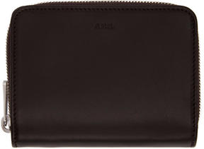 A.P.C. Brown Compact Wallet