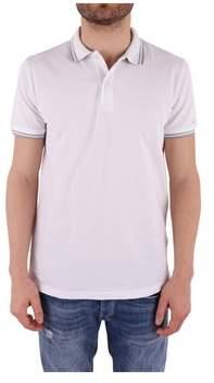 Peuterey Men's White Cotton Polo Shirt.