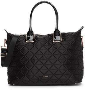 Ted Baker Hilksi Large Quilted Nylon Tote