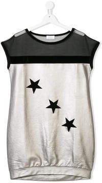 MonnaLisa star print dress