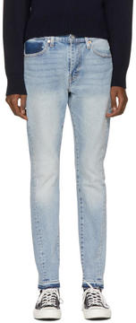 Levi's Levis Indigo 510 Skinny Altered Jeans