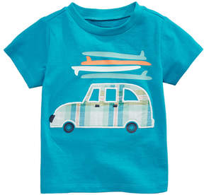 First Impressions Beach Buggy-Print Cotton T-Shirt, Baby Boys, Created for Macy's