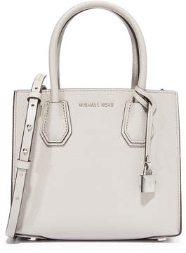 MICHAEL Michael Kors Medium Mercer Messenger Bag - PEARL GREY - STYLE
