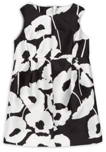 Milly Girl's Coco Poppy-Print Dress